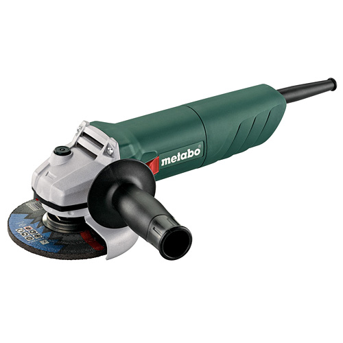 Metabo W750-115 115mm Angle Grinder, Diamond Disk, Case (240V)