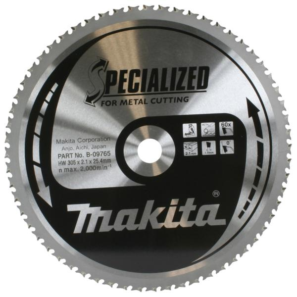"Makita B-09765 305mm(12"") 25.4B 60T CUT OFF SAW BLADE"