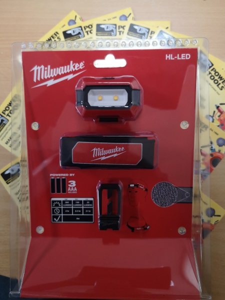 Milwaukee HL-LED Alkaline Slim Headlamp 4933459441