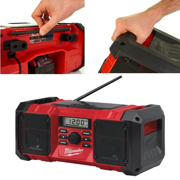 Milwaukee M18JSR-0 Jobsite Radio (Not DAB) Zero Tool