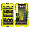 Ryobi 38 Piece Mixed Drilling & Screwdriving Set RAK38DSDI2