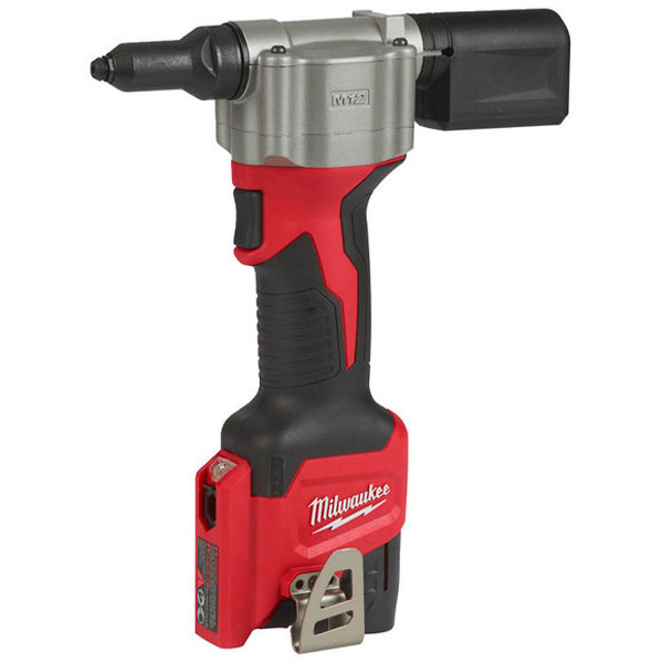 Milwaukee M12BPRT-201X Pop Rivet Tool w/ 1 x 2.0Ah Battery and Charger