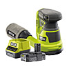 Ryobi 18v Orbital Sander Kit One Plus R18ROS C/W RC18120-120
