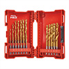Milwaukee 48894760 19 Piece HSS G-TIN Metal Drill Bit Set